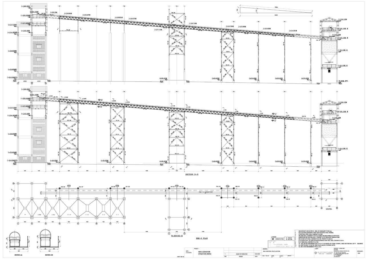 Structural Engineering Sample Architectural Hvac Duct Drawing 2d Drafting